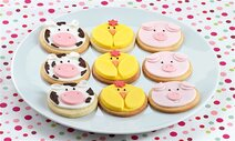 Galletas animales granja