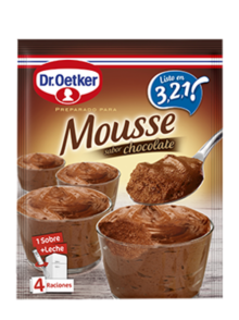 Mousse Chocolate 3,2,1