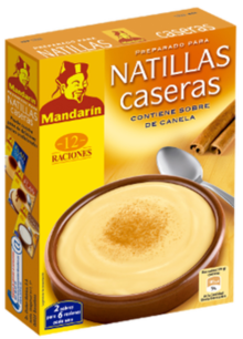 Natillas caseras